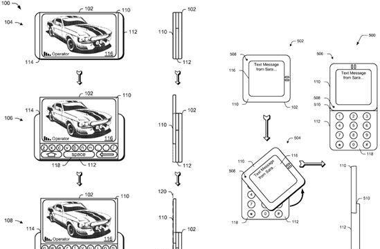 Microsoft patents new type of mobile slider, puts keyboards and screens on equal footing