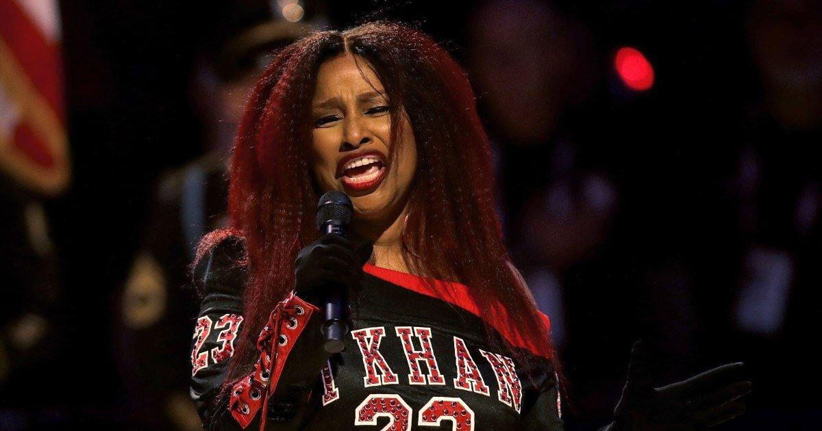 Chaka Khan S Rendition Of The National Anthem Fails To Impress At Nba All Star Game