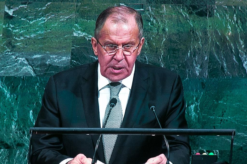 Russian Foreign Minister Sergei Lavrov said the crisis could only be solved with 'caresses, suggestion and persuasion'