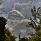 Explosive eruption rocks volcano on Caribbean's St. Vincent
