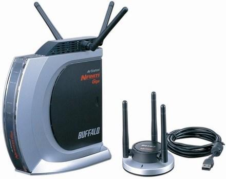 Buffalo intros USB-equipped AirStation Nfiniti Giga draft-N router
