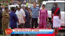 Royal tour day nine preview