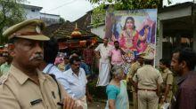 Hardliners turn back women at flashpoint India shrine