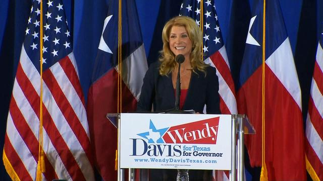 How are Wendy Davis' chances in Texas governor's race?