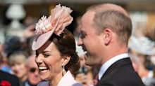 Kate Middleton Is A Vision In Pink At Queen's Garden Party