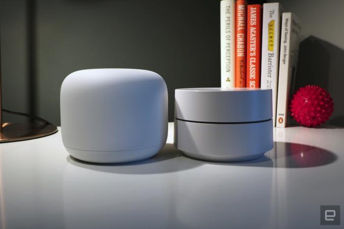 Google Nest WiFi and Google WiFi