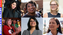 Muslim, African-American, Native American, Trans: Meet the pioneering women running for office in the midterms