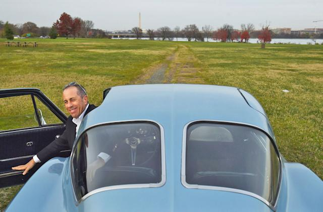 Seinfeld's 'Comedians in Cars' moves to Netflix this year