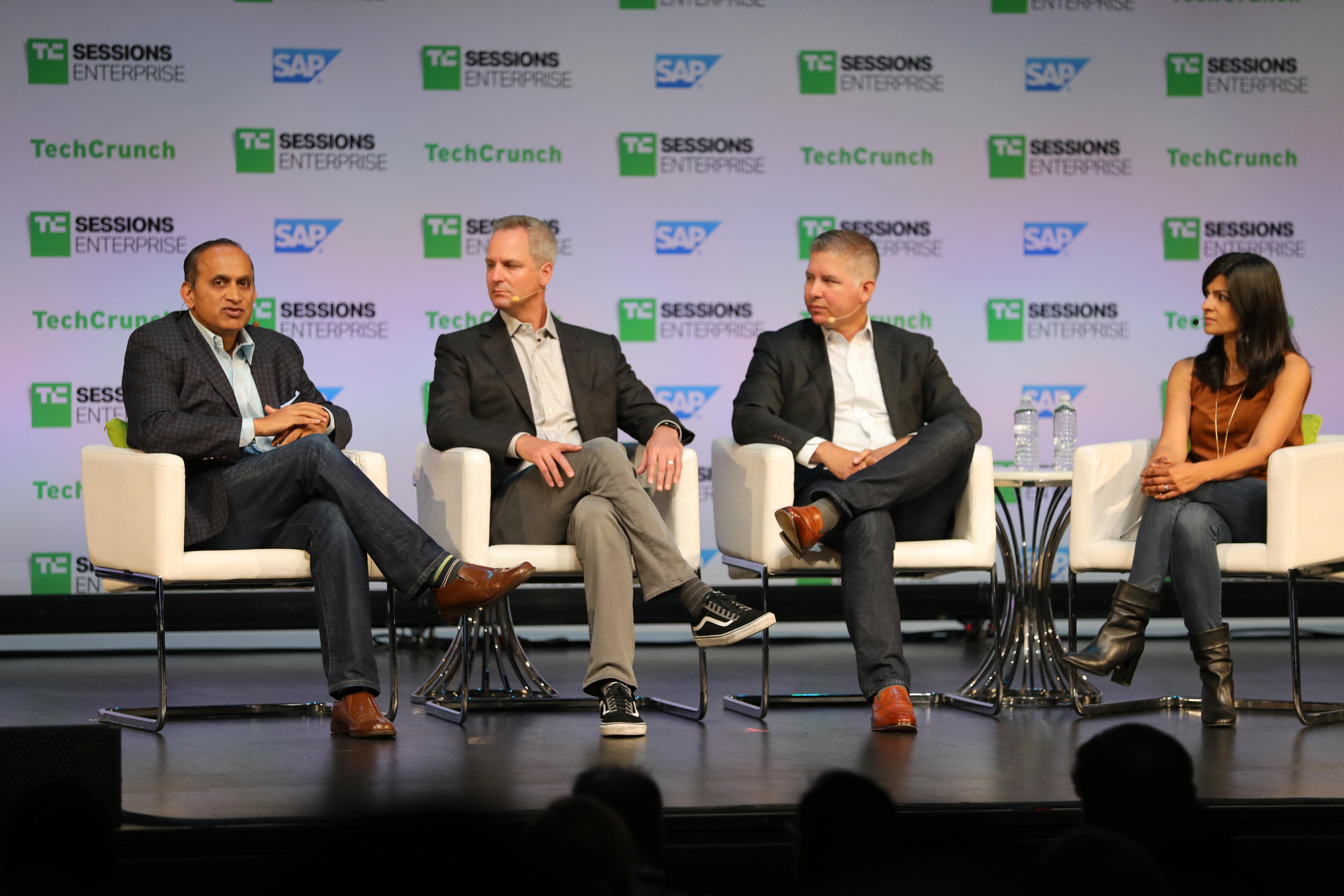 Innovation Break: Deliver Innovation to the Enterprise with Monty Gray  (Okta), DJ Paoni (SAP), Sanjay Poonen (VMWare) and Shruti Tournatory  (Sapphire Ventures)