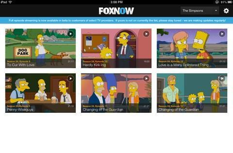 Fox mobile apps add TV Everywhere streaming, 24-hour sports network due this fall