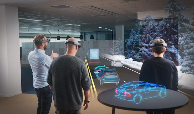 Microsoft HoloLens to provide AR demos in Volvo showrooms