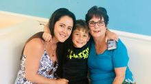 'Teen Mom' star Jenelle Evans reunites with estranged mother for 'family time' with son