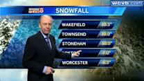 Harvey Leonard's latest Boston area forecast