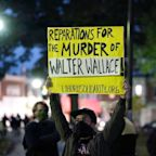 'Stop this violence': Philadelphia police report large crowd of looters as Walter Wallace's father calls for peace
