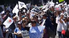 Angry protests in Mexico over gas price hikes