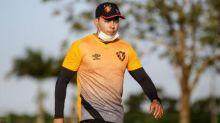 Jair Ventura comemora tempo para treinar no Sport