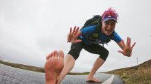 Woman Runs 90 Marathons Barefoot – Here's What Her Feet Look Like