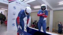 Bobsleigh - CM (H) - Coupe du monde de bob à 2: Romain Heinrich et Lionel Lefèbvre neuvièmes à Sigulda