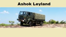 Ashok Leyland rises 3% on govt order for 10x10 vehicles to carry Smerch Rockets