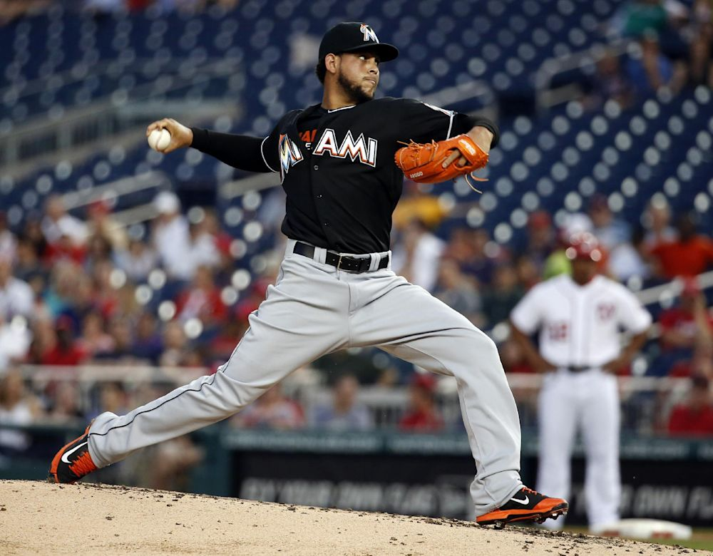Marlins' Alvarez cleared to start Tuesday