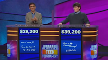 'Jeopardy!' fans and Alex Trebek shocked by rare tiebreaker game