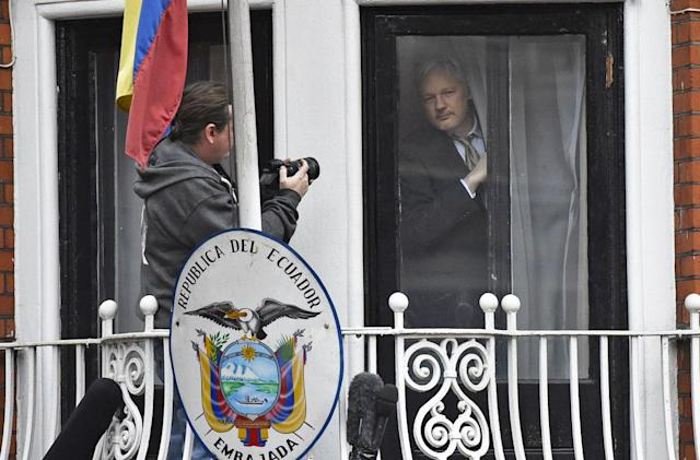 Ecuador confirms it cut Assange's internet for US election interference