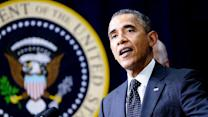 President Obama briefs top lawmakers on Iraq options