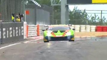 Ineichen/Perera rasen zum Sieg! Lamborghini jubelt