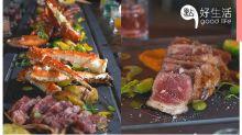 朋友聚會必選!hEAT推全港首創6呎牛扒、海鮮燒烤拼盤,適合與好友享受美酒佳餚!