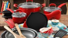 This adorable 24-piece cookware set from The Pioneer Woman's Walmart line is $50 off