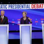 CFPB debate highlights Warren's new status as the 2020 Democratic frontrunner