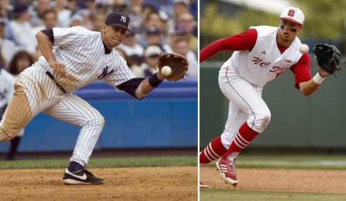 A-Rod's nephew Joe Dunand was drafted by the Marlins in Monday's MLB Draft. (Getty Images/AP)
