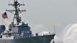Iran vessels make 'high speed intercept' of U.S. ship: U.S. official