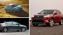 The 10 Cheapest Hybrid Cars and SUVs in 2019