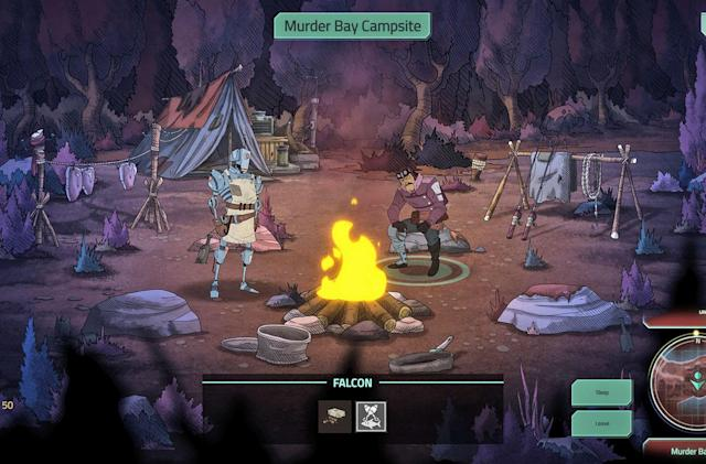 'Don't Starve' studio's sci-fi RPG looks like a gritty cartoon