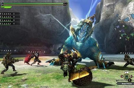 Monster Hunter 3 Ultimate and the hunting party