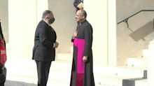 Pompeo visita Vaticano