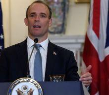 UK foreign minister's bodyguard suspended after gun left on plane