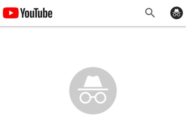 YouTube is working on an incognito mode for its Android app