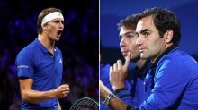 'Two great coaches': Laver Cup star hails Federer and Nadal