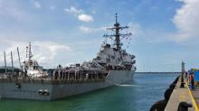 U.S. Navy to launch fleet-wide probe as search for 10 missing sailors goes on