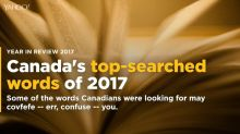 Year in Review 2017: Canada's most-searched word