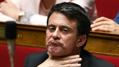 """A Evry, ex-fief de Manuel Valls: """"""""Adios"""""""" et """"bonne chance"""" à Barcelone"""