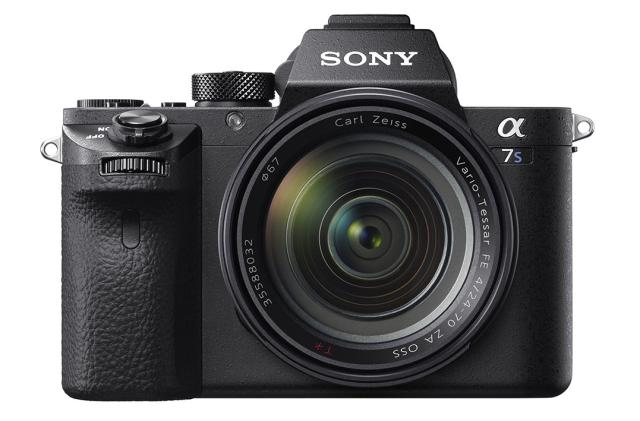 Sony's full-frame, high-ISO Alpha 7s II can record 4K video