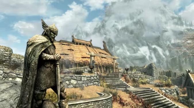 'Skyrim Special Edition' audio took a step backward