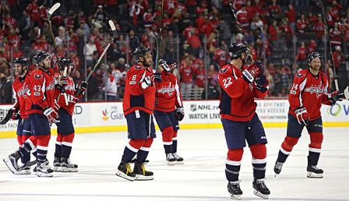 """NHL: Washington Capitals holen sich """"Presidents' Trophy"""""""