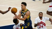 Pacers use 4th-quarter scoring flurry, beat Raptors 129-114
