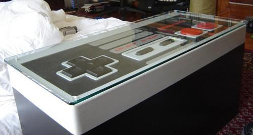 DIYer builds fully-functional NES controller coffee table, earns mad respect
