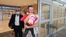 Tears for toddler's return to Israel after accidental coronavirus exile