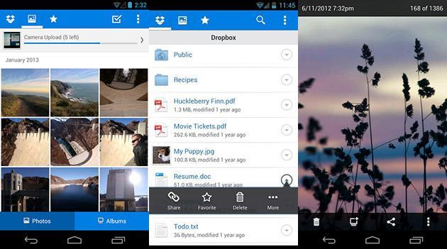 Dropbox for Android makes file sharing more social with new share function, notification feed